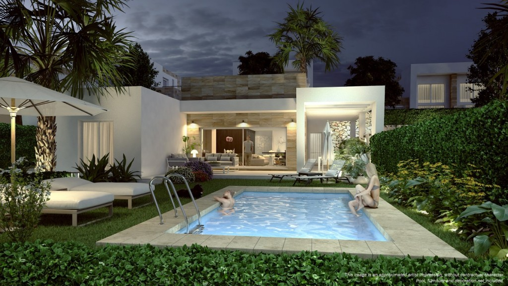 SSG-TRV10: Villa in Algorfa