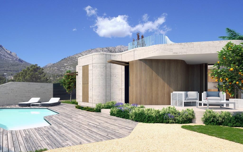 Ref:SSG-CBE1 Villa For Sale in Polop