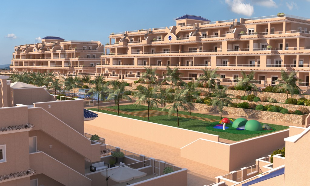 Ref:SSG-GNA28 Penthouse For Sale in Punta Prima