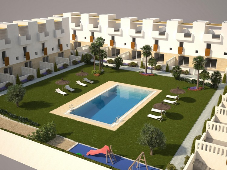 Ref:SSG-TRA2-3 Townhouse For Sale in Torrevieja