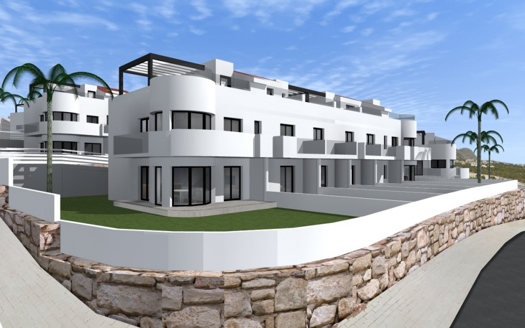 SSG-IMS7-3: Townhouse in Finestrat