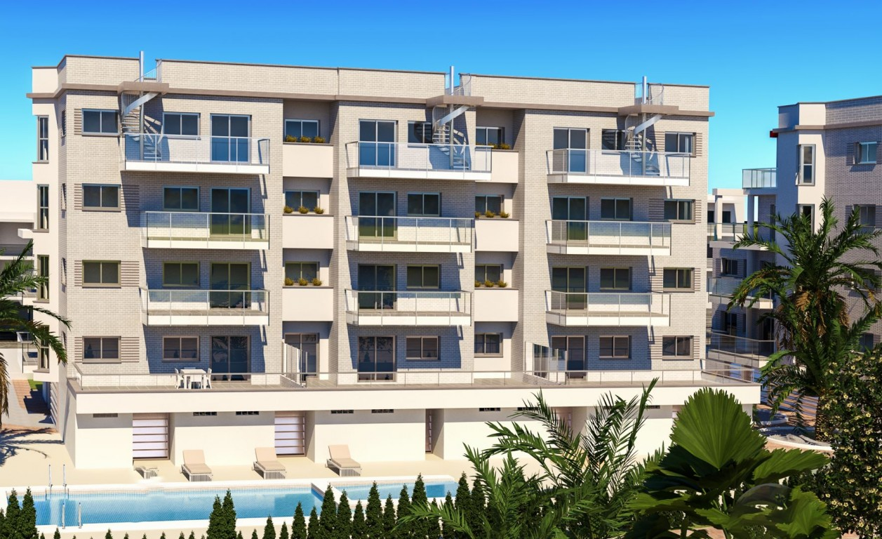 Ref:SSG-GVP8-1 Apartment For Sale in Oliva Nova Beach and Golf